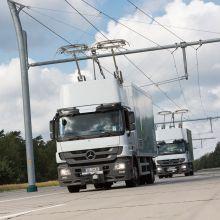 Elektromobilität bei schweren Nutzfahrzeugen zur Umweltentlastung von Ballungsräumen
