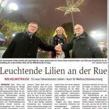 Einweihung der Maste 15.11.2016 - Quelle: Wiesbadener Tagblatt und Wiesbadener Kurier (M. Knispel)