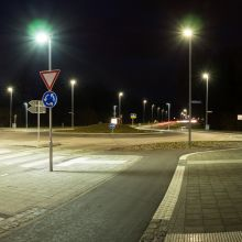 Kreisverkehr Stadtteil Bulach